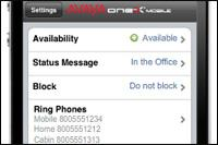 Avaya Aura one-X Mobile for iPhone